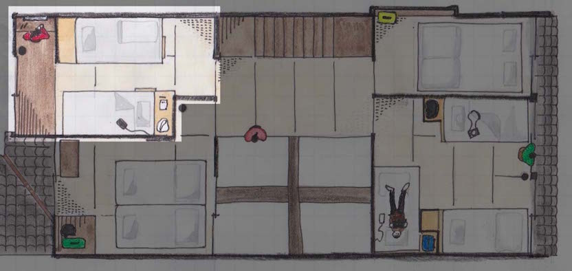 2階客室4ドミ